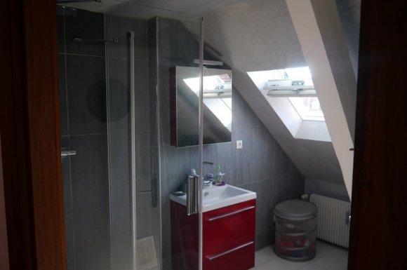 Création de salle de bain sous combles à Strasbourg